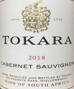 Tokara Cabernet Sauvignon 2018