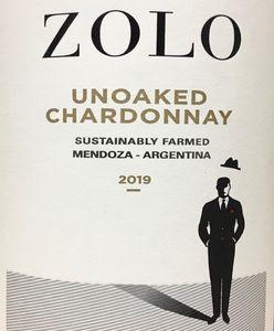 Zolo Unoaked Chardonnay 2019