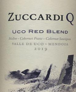 Zuccardi Q Uco Red Blend 2019
