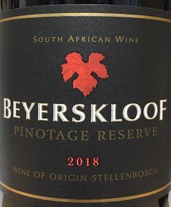 Beyerskloof Pinotge Reserve 2018
