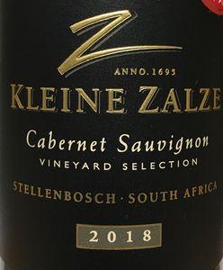 Kleine Zalze VS Cabernet 2018