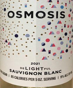 Osmosis delightful Sauvignon Blanc 2021