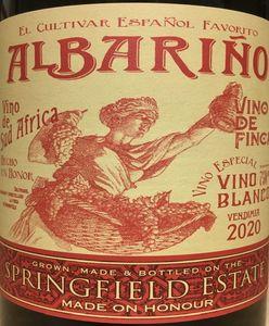 Springfield Albarino 2020