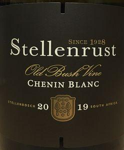 Stellenrust Old Vine Chenin Blanc 2019