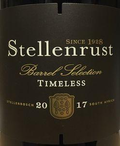 Stellenrust Timeless 2017