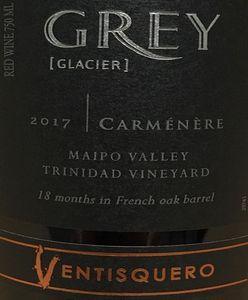Ventisquero Grey Carmenere 2017