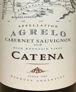 Catena Agrelo Cabernet Sauvignon 2018