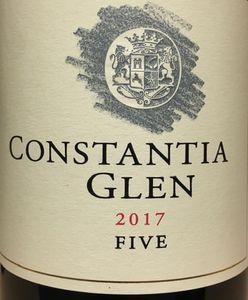 Constantia Glen Five 2017