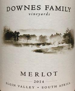 Downes Merlot 2014