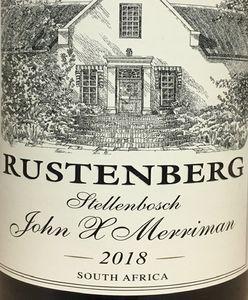 Rustenberg John X Merriman 2018