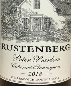 Rustenberg Peter Barlow Cabernet 2018